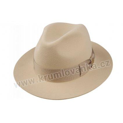 Plstěný klobouk TONAK Fedora Marlene 11775/14/Q7012 krémový