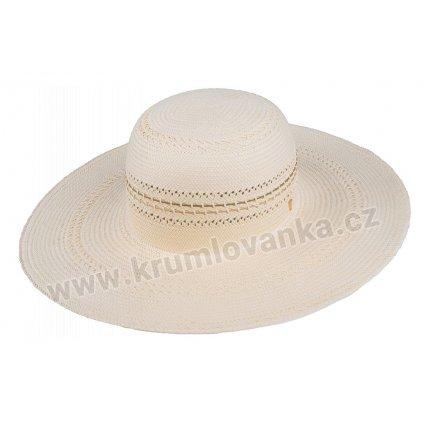 Letní klobouk TONAK Brim Hat Base Point 35038 natural