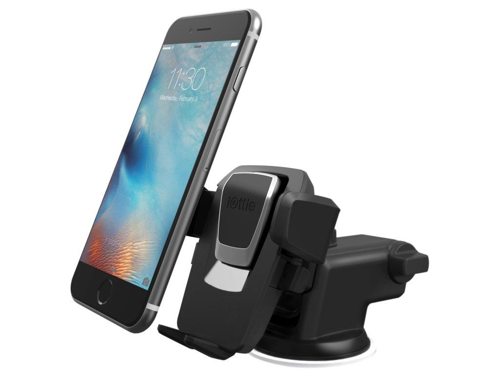 Držáky mobilů do auta na palubní desku a čelní sklo