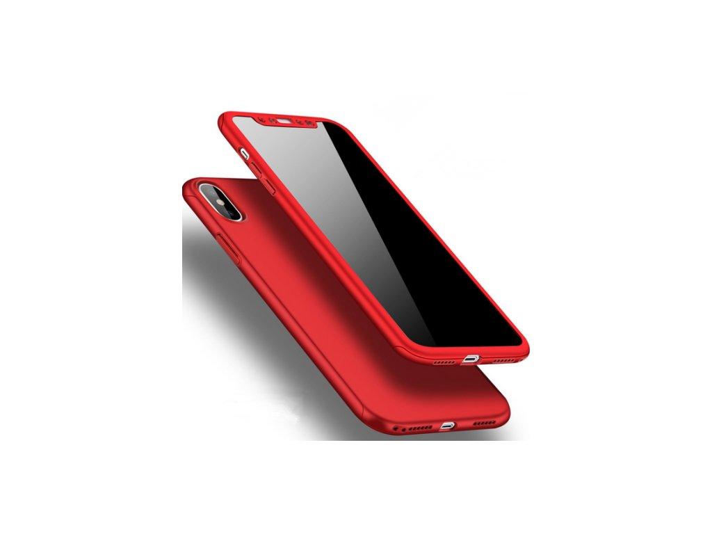Kryt Clearo Luxury Defender 360 + tvrzené sklo na displej pro iPhone X