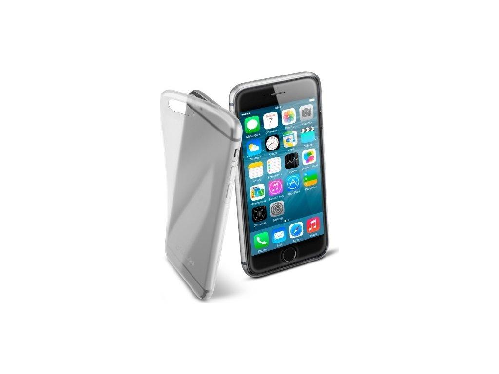 Extratenký zadní kryt CellularLine Fine pro Apple iPhone 6/6S, bezbarvý