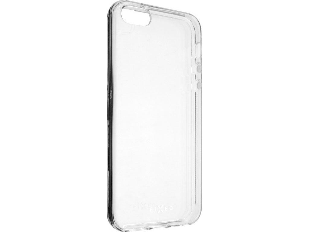 TPU gelové pouzdro FIXED pro Apple iPhone 5/5S/SE, čiré