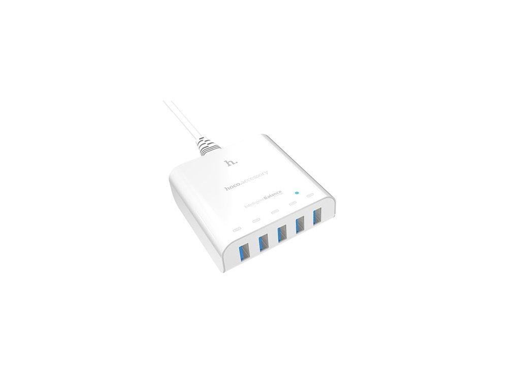 1258 hoco usb hub uh501 smart charger 5usb