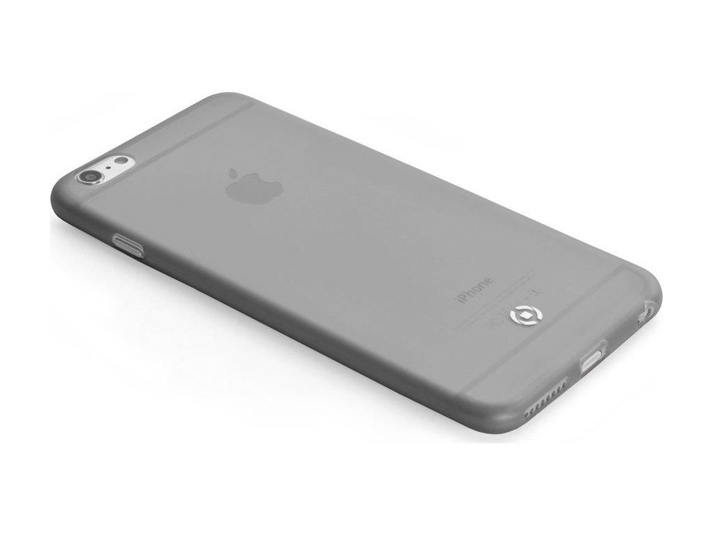 Ultra tenké TPU pouzdro CELLY Frost pro Apple iPhone 6 Plus / 6S Plus, 0,29 mm, černé