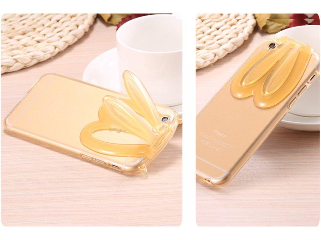 Kryt Rabbit pro iPhone 6/6S (Barva Zlatý)