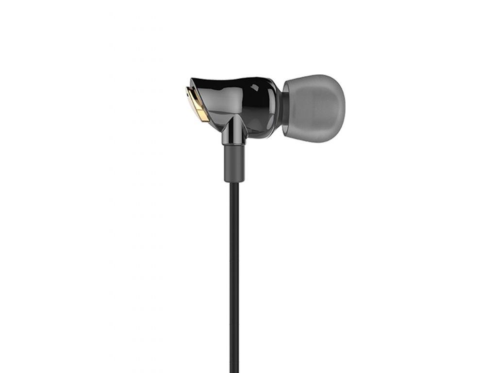 Sluchátka s mikrofonem HOCO CERAMIC HF1 HIFI - Black