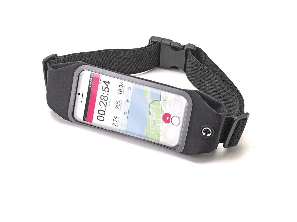 """Sportovní neoprénové pouzdro CELLY RunBelt View, pro telefony do 4.7"""", černé"""