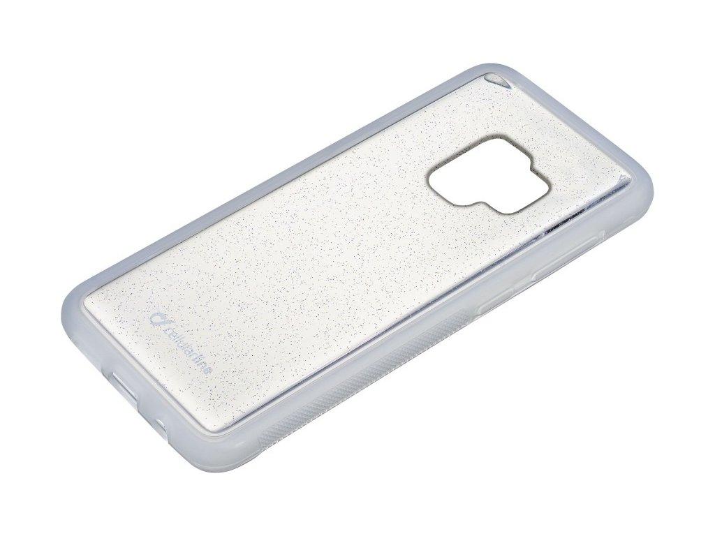 Adhezivní zadní kryt Cellularline SELFIE CASE pro Samsung Galaxy  S9, transparentní