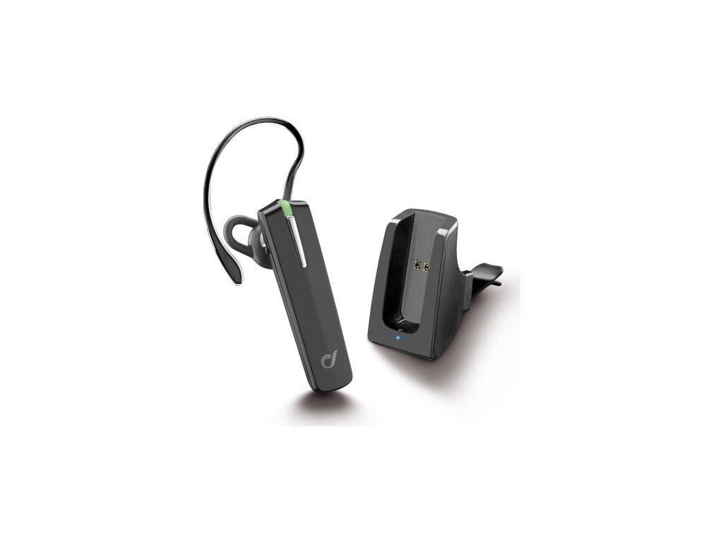 Headset CellularLine Bluetooth Car Pro, BT v3.0, včetně držáku do auta