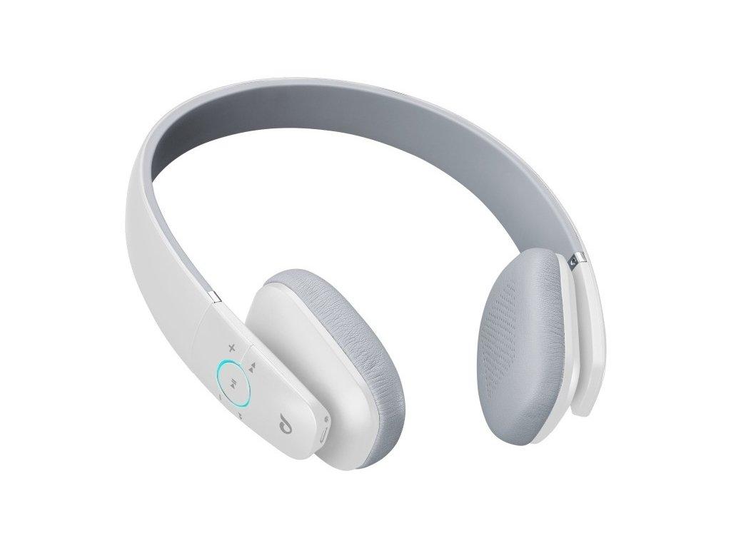 Bezdrátová sluchátka CELLULARLINE PERFECTIO, AQL® certifikace, moderní design, bílá