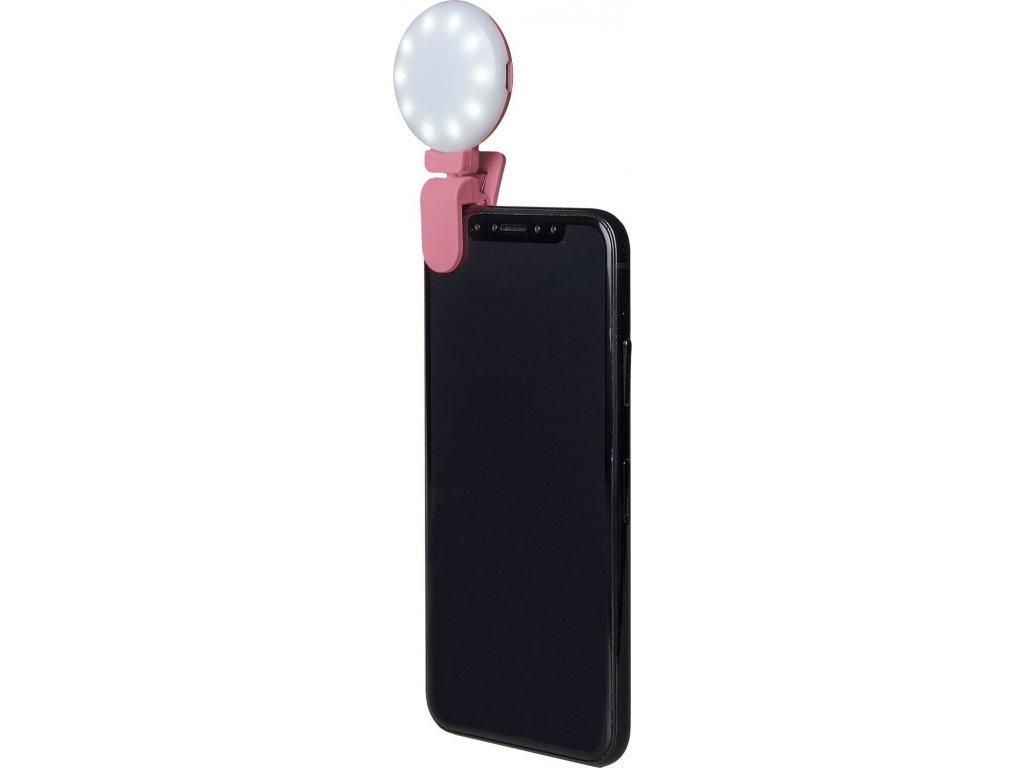 Přídavný blesk na fotoaparát CELLY Click Light, růžový