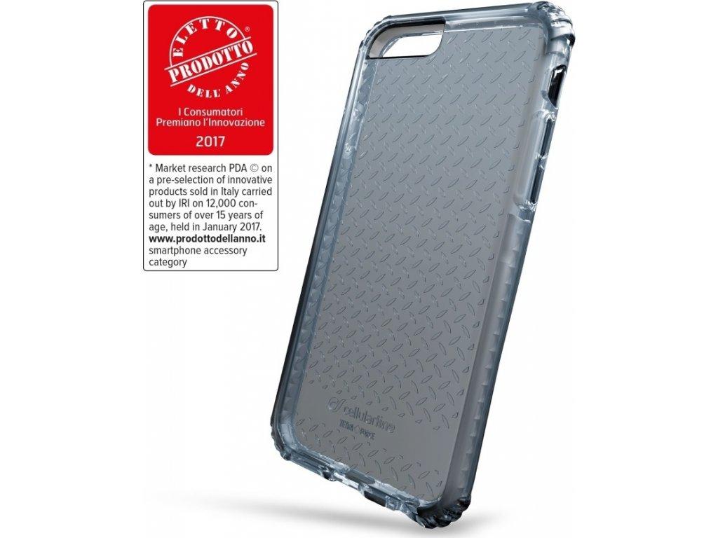 Ultra ochranné pouzdro Cellularline Tetra Force Shock-Twist pro Apple iPhone 7/8/SE (2020), 2 stupně ochrany, černé