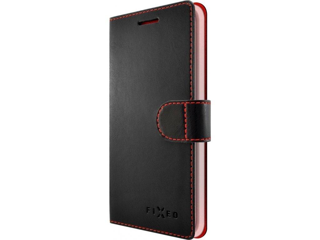 Pouzdro typu kniha FIXED FIT pro Apple iPhone 7 Plus/8 Plus, černé