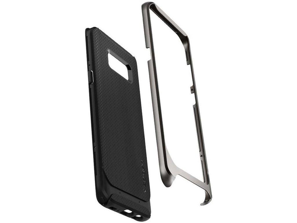 Spigen Neo Hybrid, gunmetal - Galaxy S8
