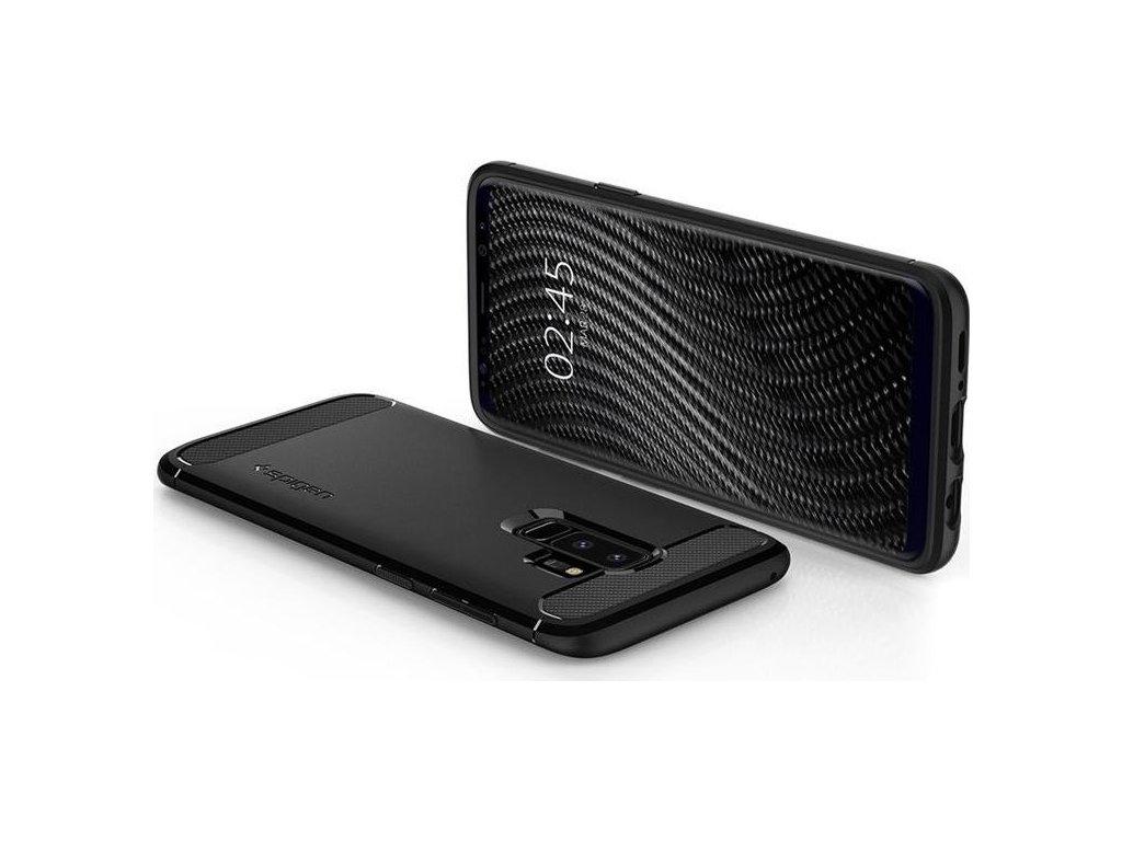Spigen Rugged Armor, black - Galaxy S9+
