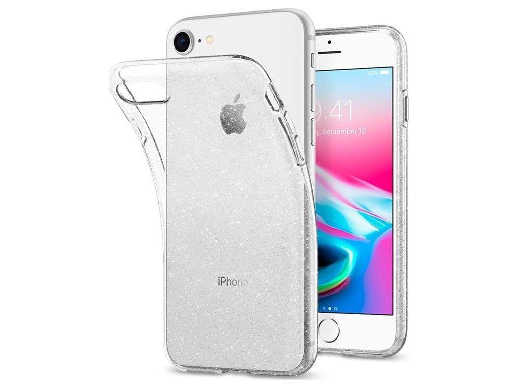 Spigen Liquid Crystal Glitter, clear-iPhone SE/8/7