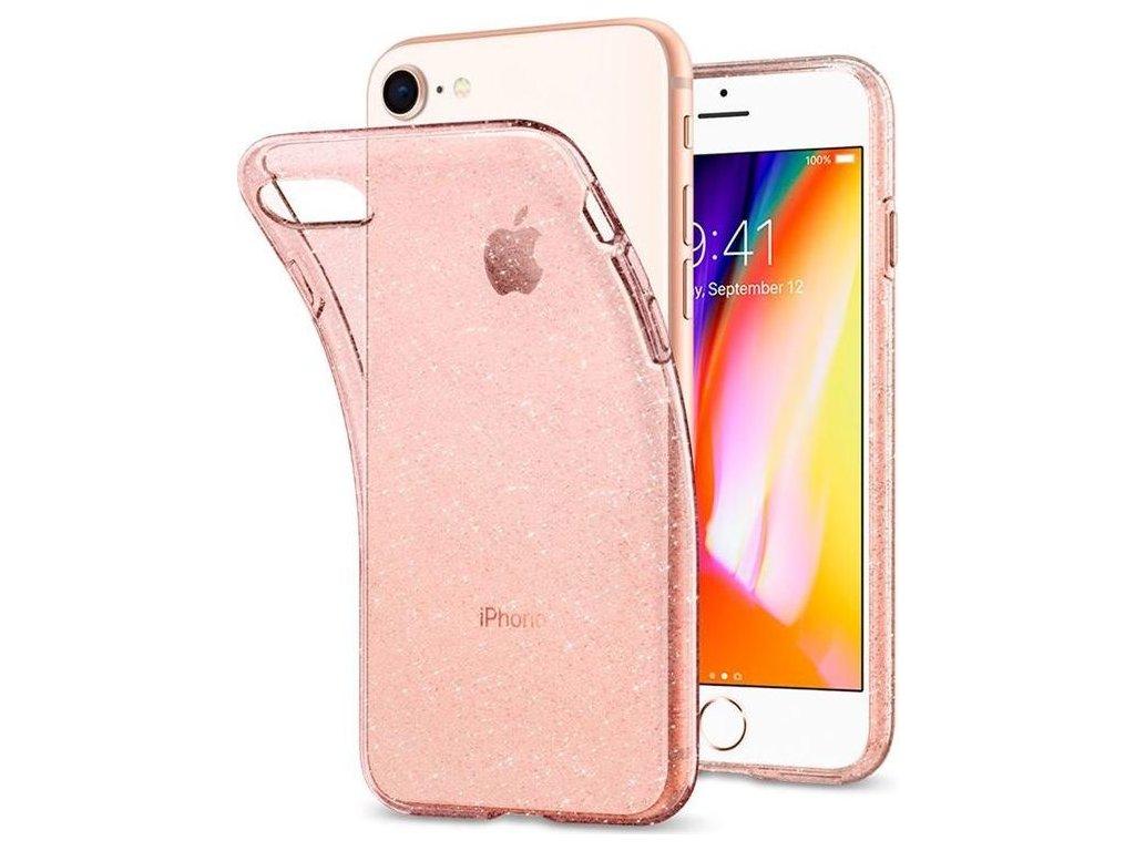 Spigen Liquid Crystal Glitter, rose -iPhone SE/8/7