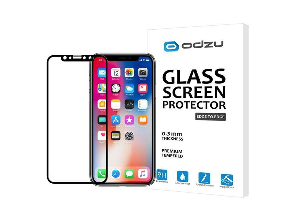 Odzu Glass Screen Protector E2E - iPhone XS/X