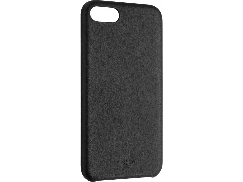 Zadní kryt FIXED Tale pro Apple iPhone 7/8/SE (2020), PU kůže, černý