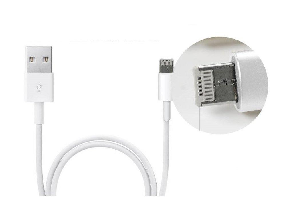 1922 1 usb kabel clearo 2v1 s konektorem lightning micro usb pro apple iphone 1m