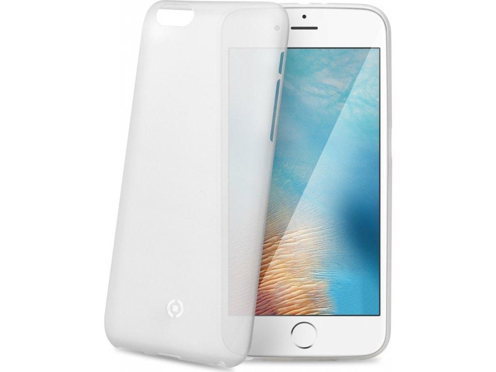 Ultra tenké TPU pouzdro CELLY Frost pro Apple iPhone 7 Plus/8 Plus, 0,29 mm, bílé