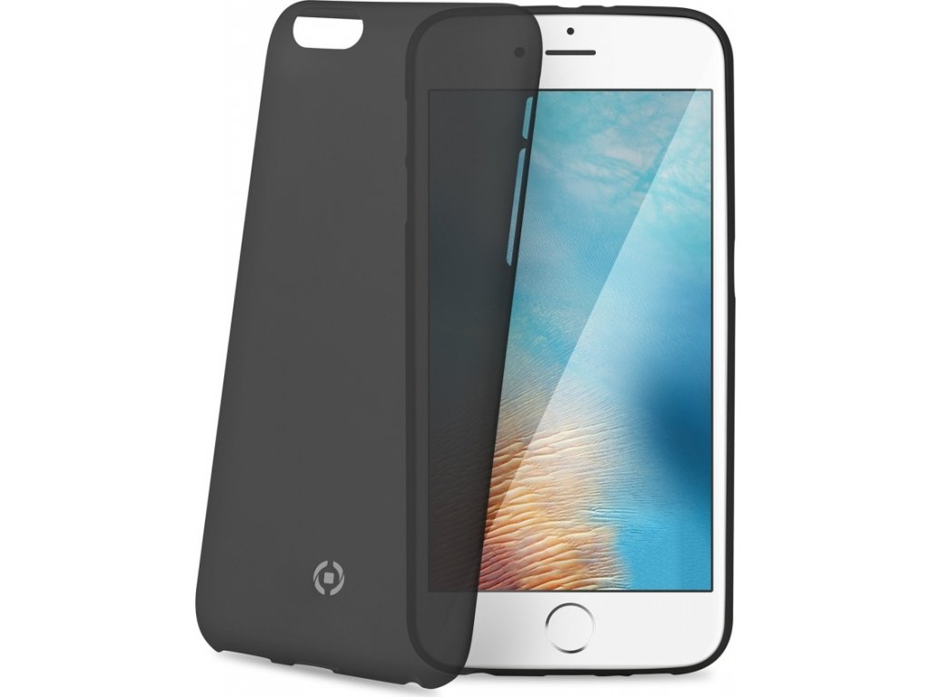 Ultra tenké TPU pouzdro CELLY Frost pro Apple iPhone 7 Plus/8 Plus, 0,29 mm, černé