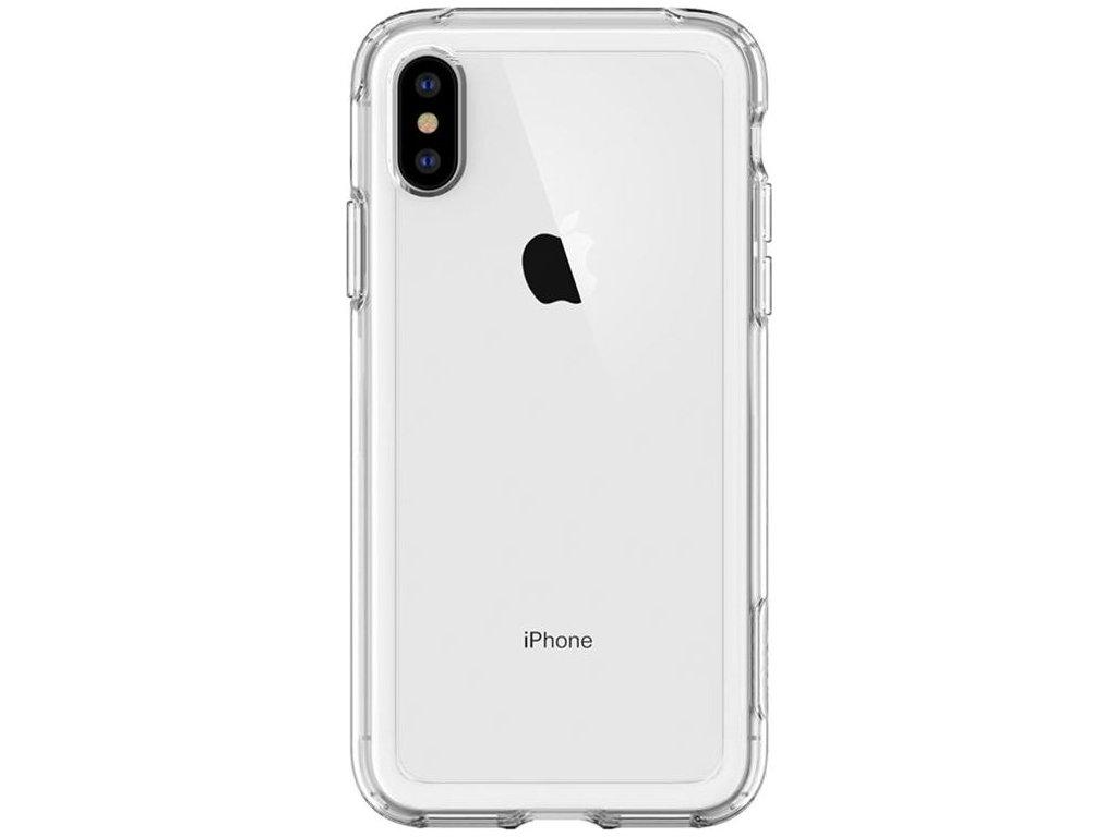 Spigen Crystal Hybrid, clear - iPhone XS/X