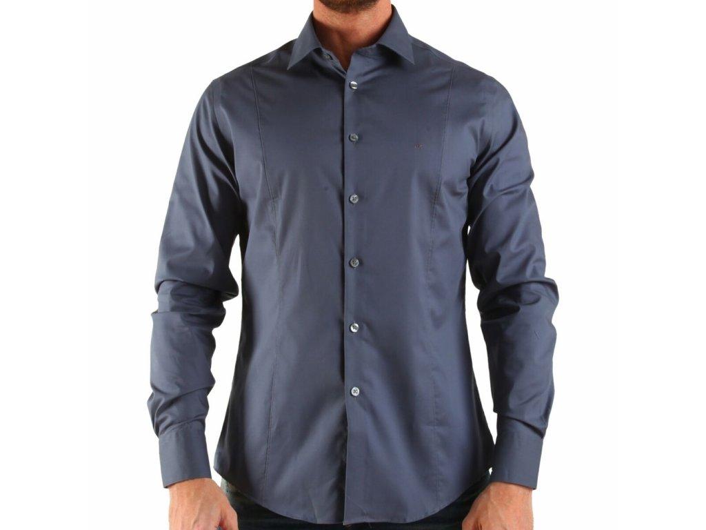 Calvin Klein pánská košile Gray velikost L - 43 17 - Kryteo.cz 05c43a9641