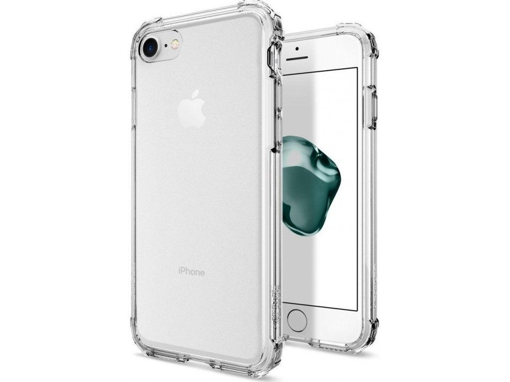 Spigen Crystal Shell, clear crystal - iPhone 8/7