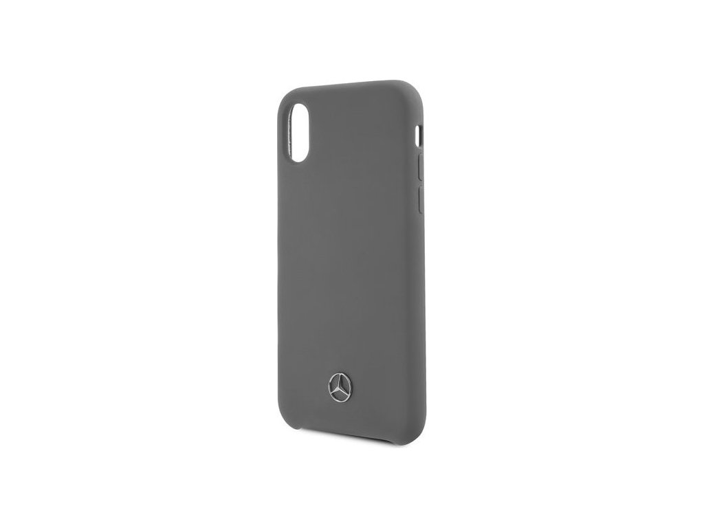 MEHCPXSILGR Mercedes Silicon Case Lining Grey pro iPhone X/XS