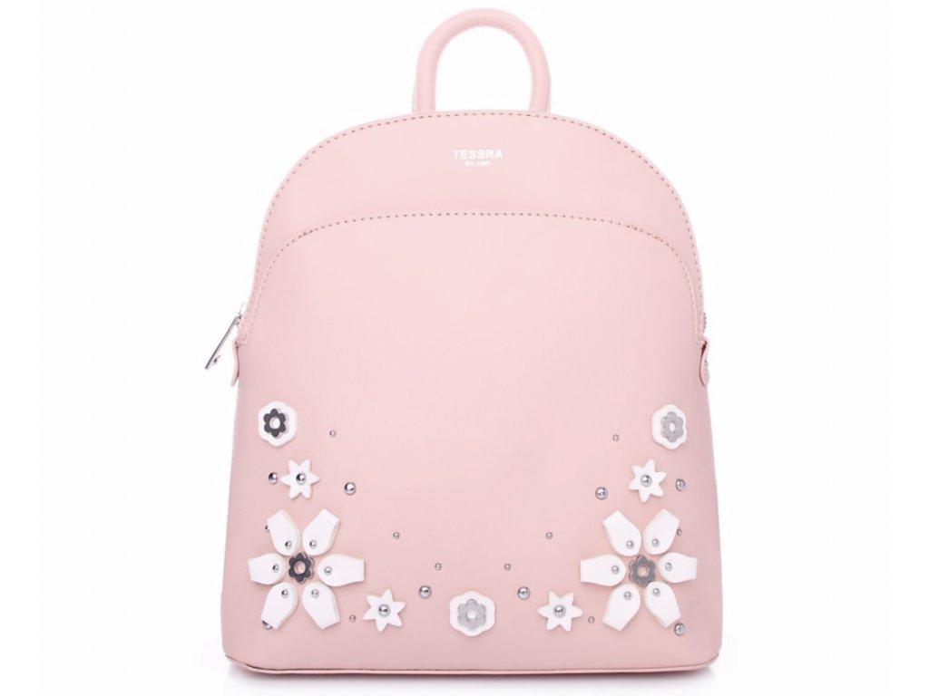 Tessra dámský batoh 4172 TS, světle růžový