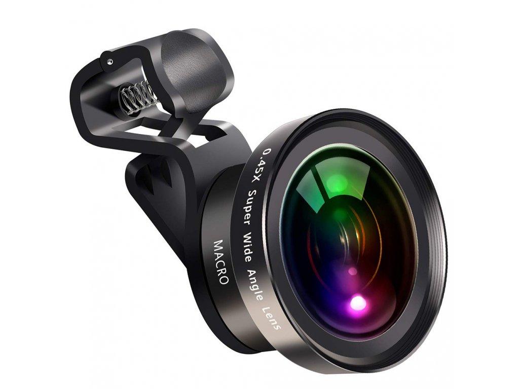0.45X Wide Angle 12.5X Macro Lens