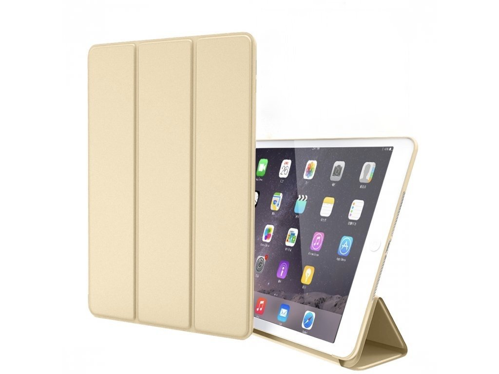 Kryt Book Case s ochranou displeje pro iPad mini 4 - Zlatý