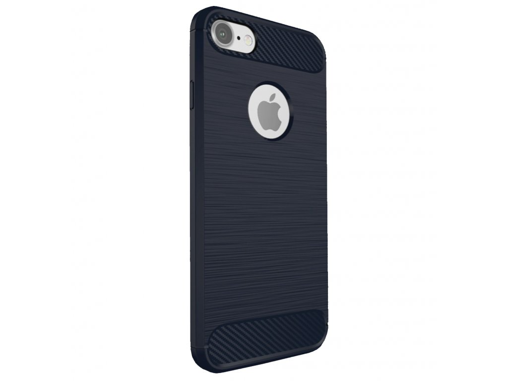 Kryt Clearo Carbon Armor, Blue - pro iPhone 7