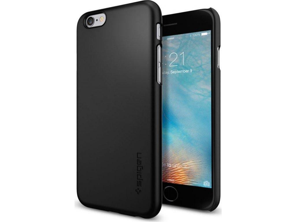 Spigen Thin Fit, black - iPhone 6/6s
