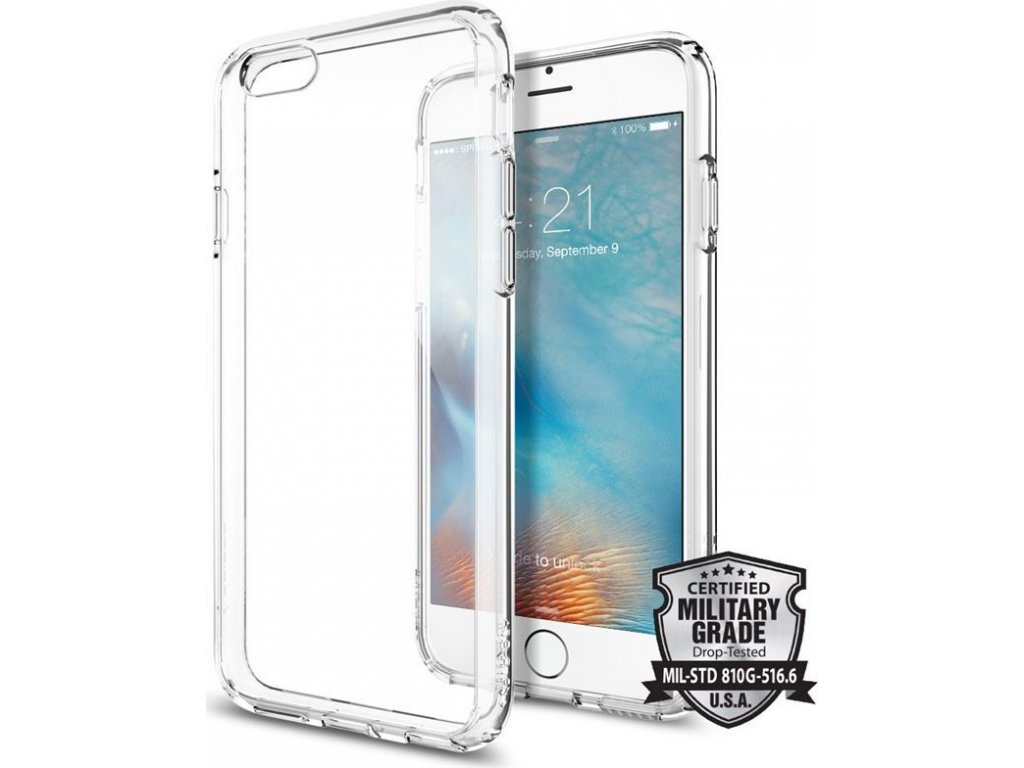 Spigen Ultra Hybrid, crystal clear - iPhone 6/6s