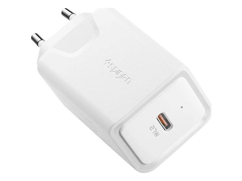 Spigen F210 USB-C PD 27 Wall Charger, white