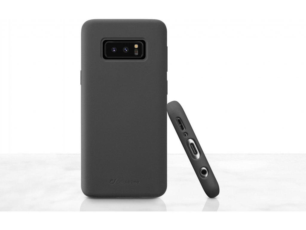 Ochranný silikonový kryt CellularLine SENSATION pro Samsung Galaxy S10e, černý
