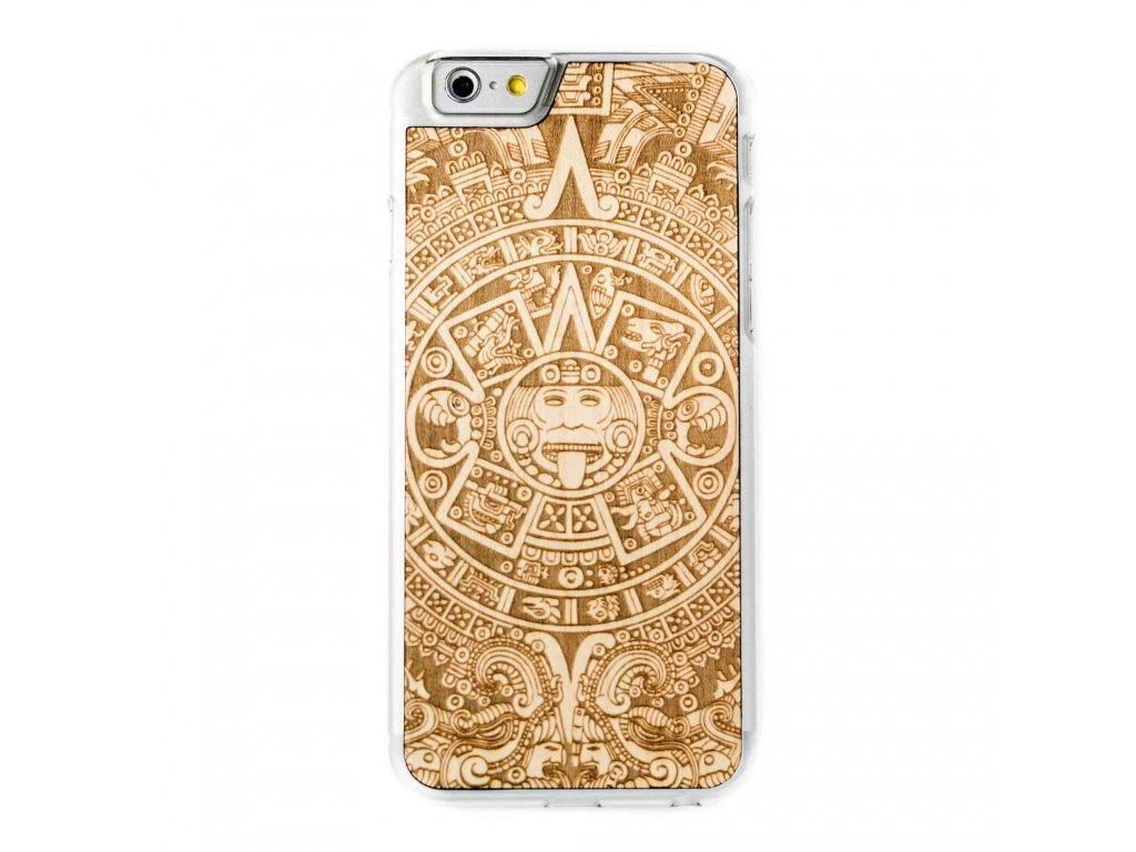 319(4) dreveny kryt smartwoods aztec calendar clear pro iphone 6 6s
