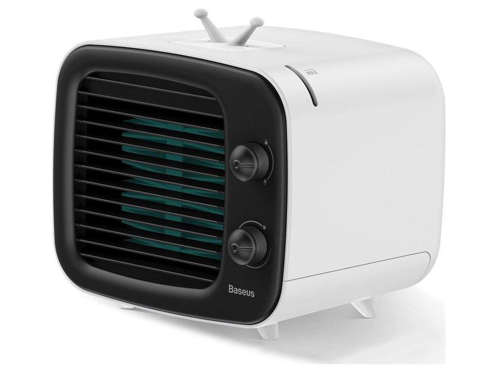 Stolní klimatizace BASEUS TIME DESKTOP AIR COOLER BLACK/WHITE