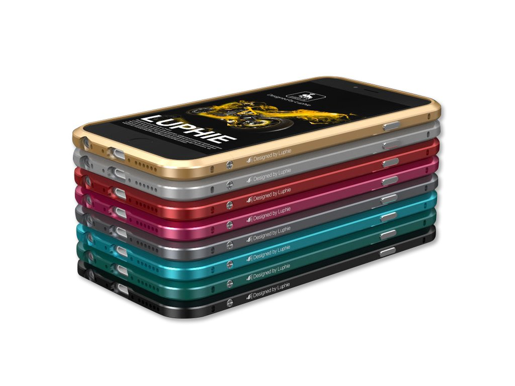 Luphie Bumper Blade Sword (4 varianty) pro iPhone 6 Plus/6S Plus (Barva Zlatý)