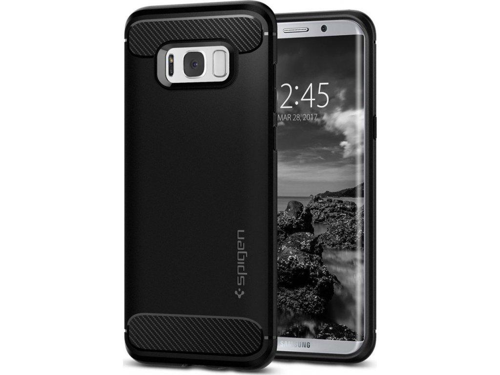 Spigen Rugged Armor, black - Galaxy S8