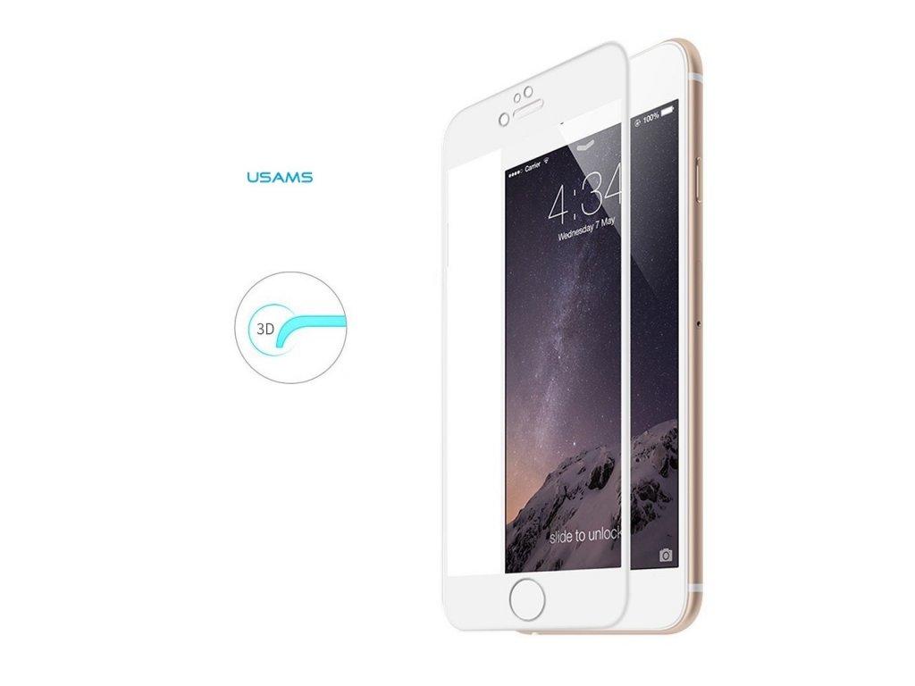 tvrzene sklo usams s 3d rameckem na iphone 7