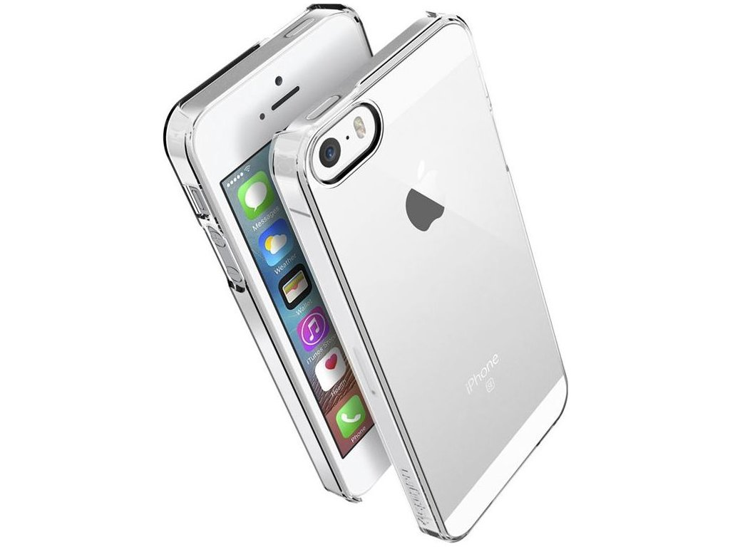 Spigen Thin Fit, crystal clear - iPhone SE/5s/5
