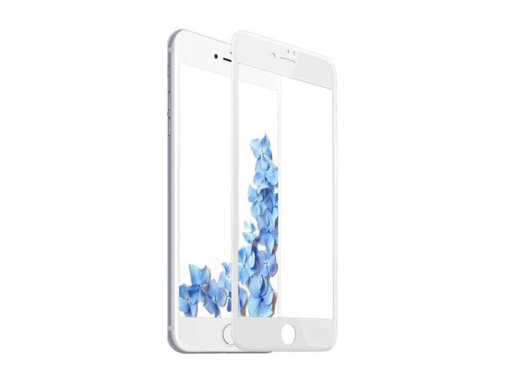 4D main clearo tvrzene sklo white
