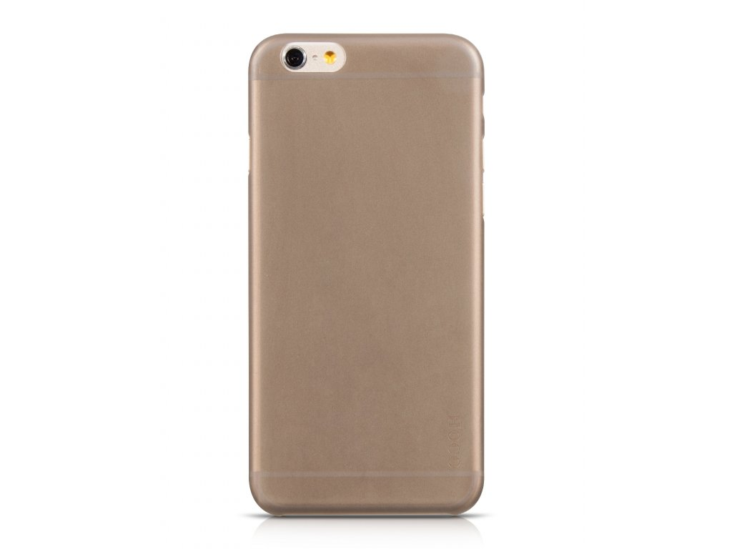 769 1 kryt hoco tpu frosted ultra tenky pro apple iphone 6 6s cerny