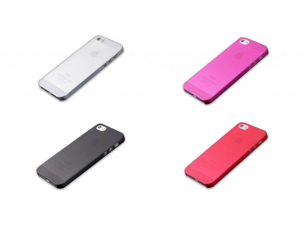 Kryt Matt Ultra Thin pro iPhone 5/5S/SE (Barva Žlutý)