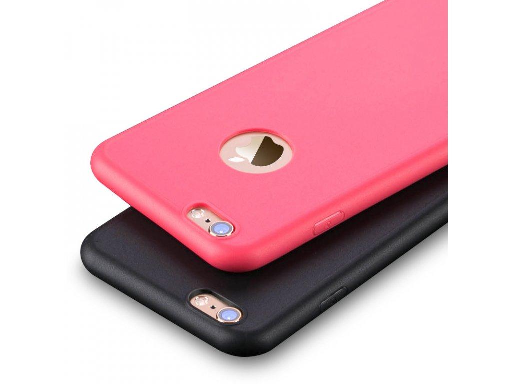 Kryt Silic Ultra Thin pro iPhone 6/6S (Barva RED MALINA)