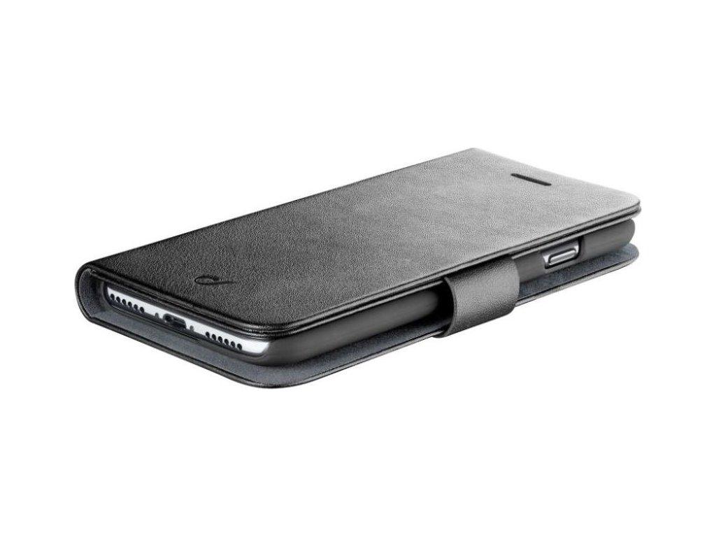 Pouzdro typu kniha CellularLine Book Agenda pro Apple iPhone X/XS, černé