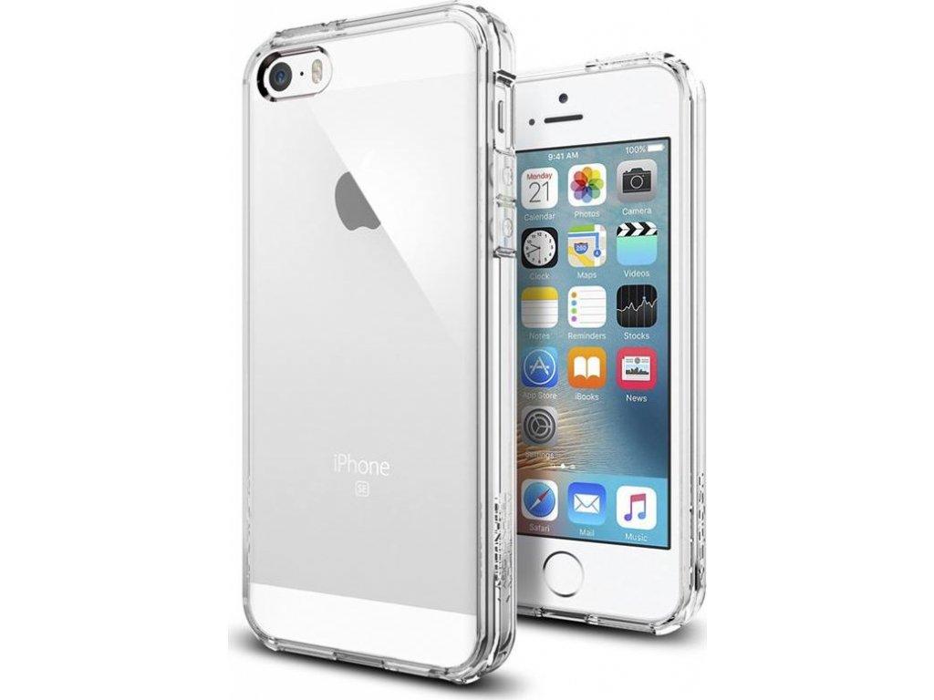 Spigen Ultra Hybrid, clear - iPhone SE 2016/5s/5